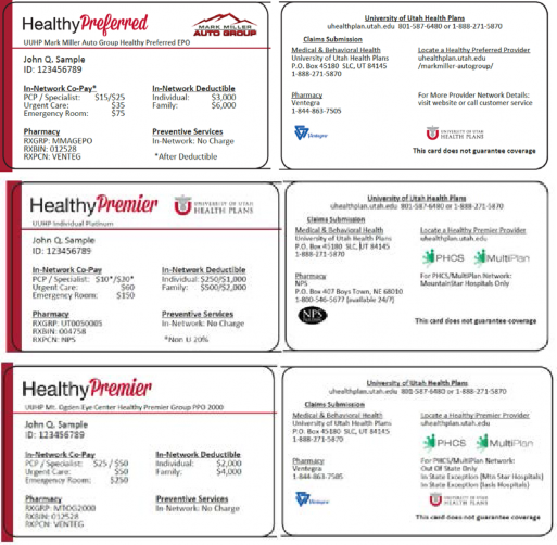 University of Utah Health Plans Provider Manual