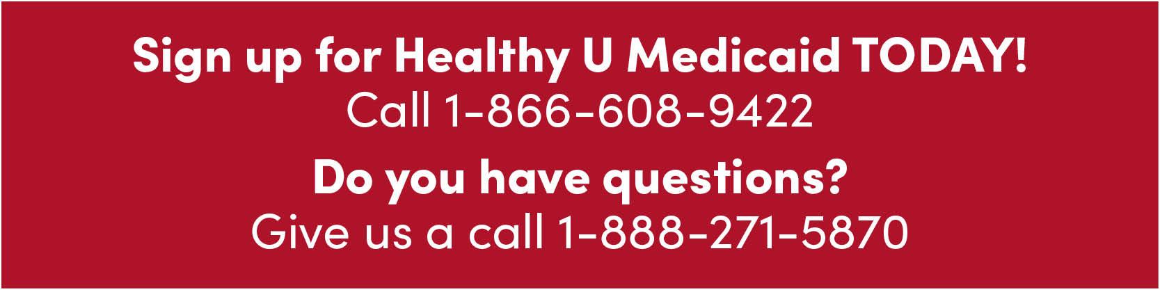 Healthy U Medicaid Health Insurance